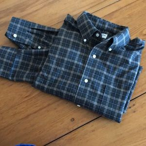 St. John's Bay iron free plaid shirt Large